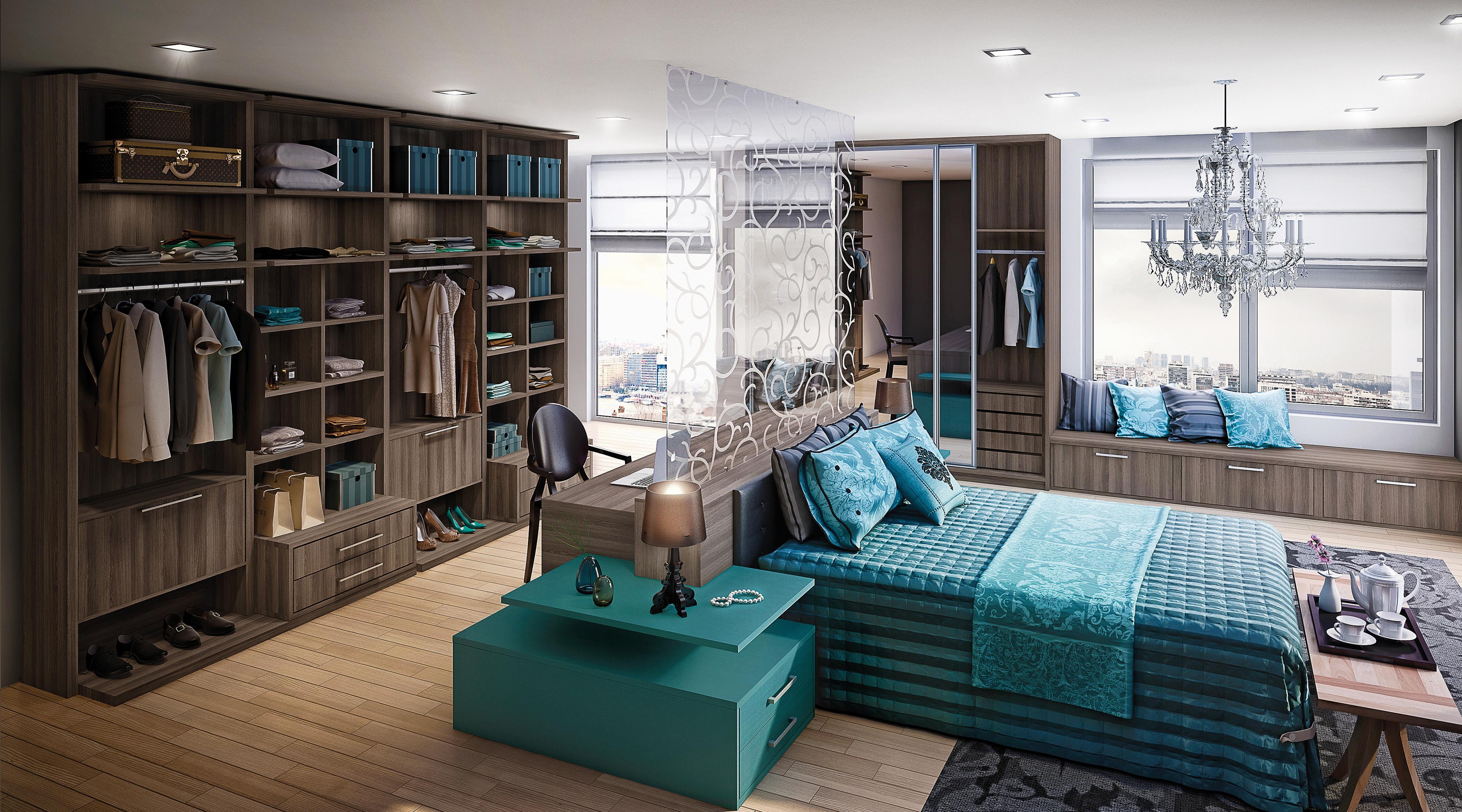 Dormitório Azul e Bergerac
